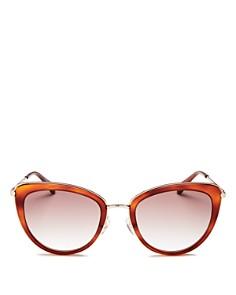 Longchamp -  Women's Combo Cat Eye Sunglasses, 54mm