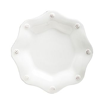 Juliska - Berry & Thread Whitewash Scallop Tea Plate