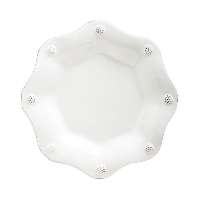 Juliska - Berry & Thread Whitewash Scallop Tea Plate