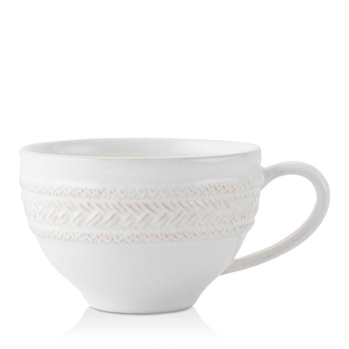 Juliska - Le Panier Whitewash Tea/Coffee Cup