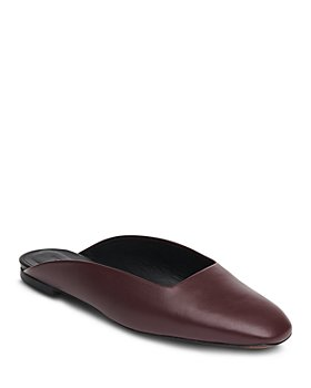 Whistles - Women's Netley Leather Mules