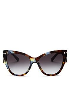 Valentino - Women's Cat Eye Sunglasses, 55mm