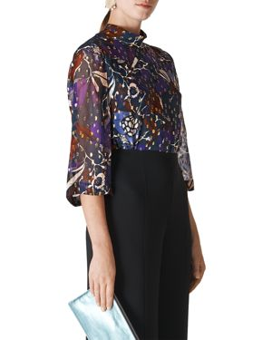 Whistles Montrose Printed Top