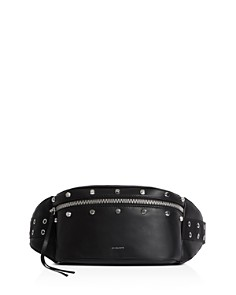 ALLSAINTS - Sid Studded Leather Convertible Belt Bag