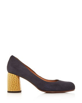 Chie Mihara - Women's Mo-Morgan Column-Heel Pumps