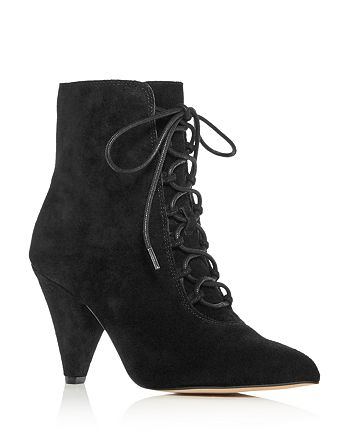 Kurt Geiger - Women's Pointed-Toe High-Heel Booties