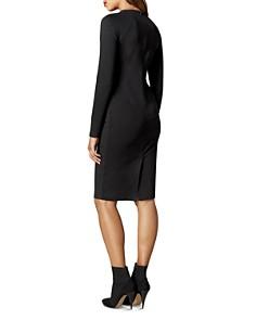 KAREN MILLEN - Zip Detail Body-Con Dress