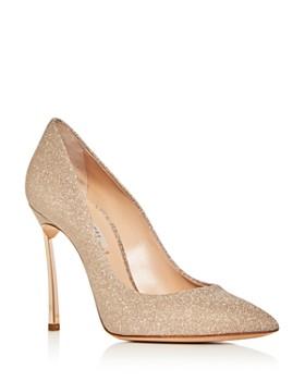 ea71dcfc70ab Casadei - Women's Glitter Pointed-Toe Pumps ...