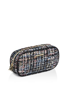 BCBGENERATION - Autumn Multicolor Tweed Camera Pouch