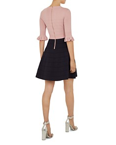 Ted Baker - Dyana Color-Block Knit Dress