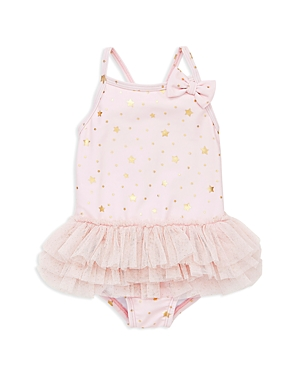 Little Me Girls Glitzy Star Swimsuit  Baby