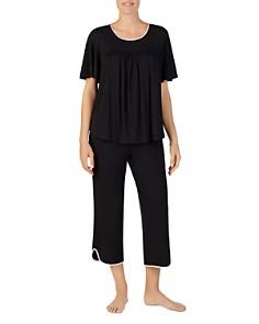 kate spade new york - Short Sleeve Gathered Pajama Set