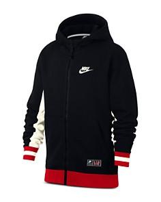 Nike - Boys' Nike Air Full-Zip Hoodie - Big Kid