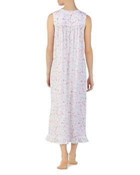 Eileen West - Ballet Floral Print Sleeveless Nightgown