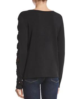 Bailey 44 - Knot Detail Fleece Sweatshirt