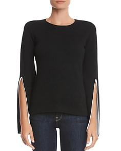 Bailey 44 - Got To Split Slit-Sleeve Sweater