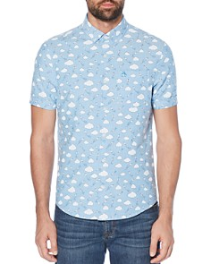 Original Penguin - Cloud Print Regular Fit Shirt