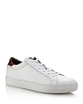 To Boot New York - Men's Knox Leather Low-Top Sneakers
