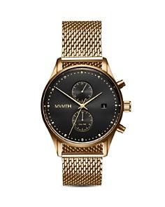 MVMT - Voyager Black & Gold Watch, 42mm