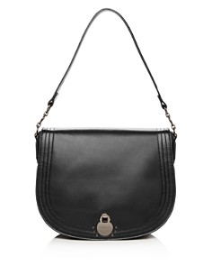 Longchamp - Cavalcade Large Leather Shoulder Bag