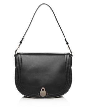 Longchamp - Cavalcade Large Leather Shoulder Bag