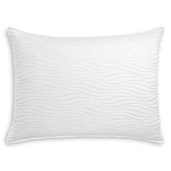 Oake - White Quilted Standard Sham - 100% Exclusive