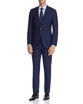 BOSS - Huge/Genius Micro-Stripe Slim Fit Suit