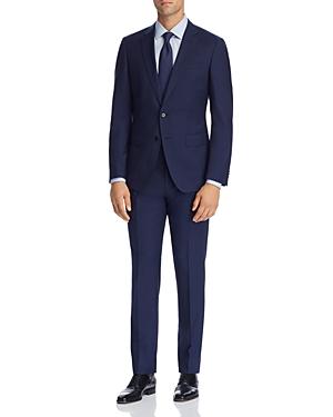 Boss Huge/Genius Micro-Stripe Slim Fit Suit