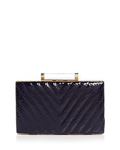 Sondra Roberts - Quilted Snake Clutch