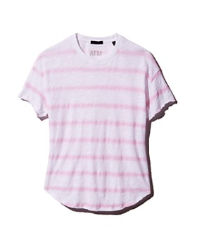 ATM Anthony Thomas Melillo - Striped Slub Tee