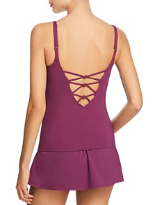 Bleu Rod Beattie - V-Neck Tankini Top & Skirted Hipster Tankini Bottom