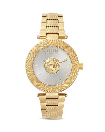 Versus Versace - Brick Lane Gold-Tone Watch, 40mm