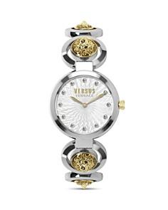 Versus Versace - Peking Road Gold-Tone Accented Bracelet Watch, 34mm