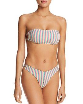 WeWoreWhat - Natalia Bandeau Bikini Top & Carmen Bikini Bottom