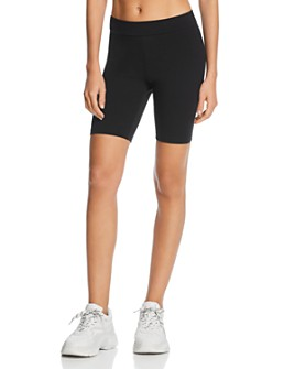 HUE - Blackout High-Waist Bike Shorts