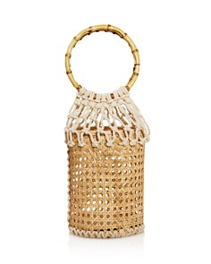 AQUA - Wicker & Woven Basket Bag - 100% Exclusive
