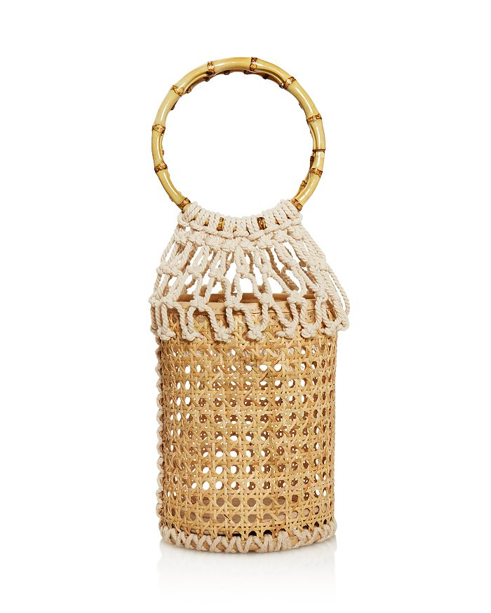 AQUA - Wicker & Woven Basket Bag - 100% Exclusive