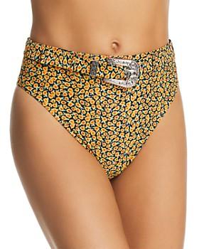 Onia - Emily x WeWoreWhat Floral Bikini Bottom