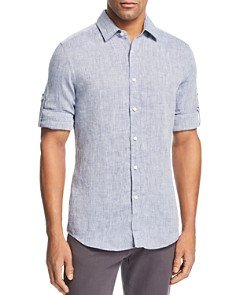BOSS - Lukas Linen Regular Fit Shirt