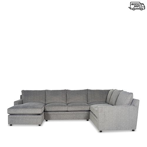 Bloomingdale's - Riley 4-Piece Sectional - Left Facing Chaise - 100% Exclusive