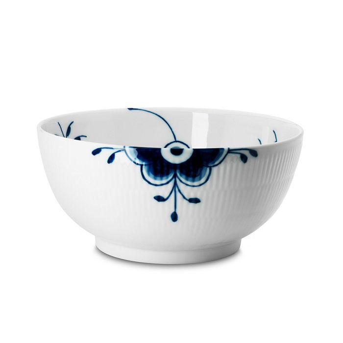 """Royal Copenhagen - """"Blue Fluted Mega"""" Serving Bowl, Large"""