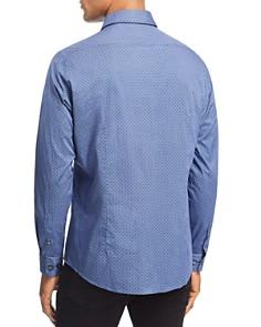 BOSS - Lukas Dot-Print Slim Fit Shirt