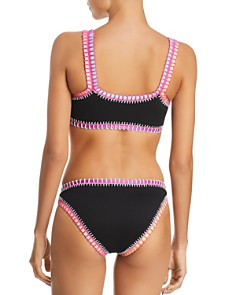 Platinum inspired by Solange Ferrarini - Stitched Ribbed Sporty Bikini Top & Stitched Ribbed Bikini Bottom - 100% Exclusive