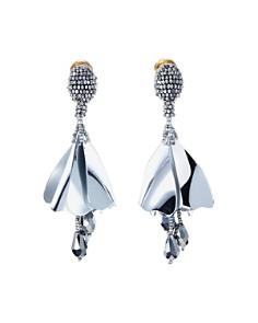Oscar de la Renta - Classic Mini Impatiens Clip-On Earrings