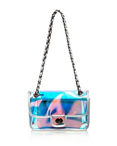 AQUA - Iridescent Convertible Shoulder Bag - 100% Exclusive