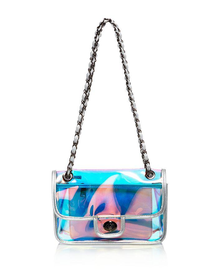 AQUA - Iridescent Convertible Shoulder Bag - 100% Exclusive