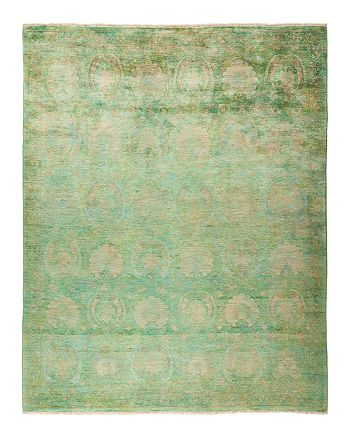 Solo Rugs - Vibrance Collection Leon Hand-Knotted Area Rug, 8' x 10'1""