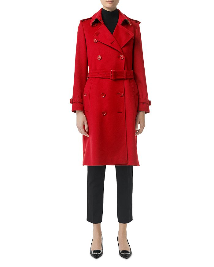 Burberry - Kensington Cashmere Trench Coat