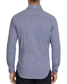Robert Graham - Alabaster Houndstooth-Print Classic Fit Shirt