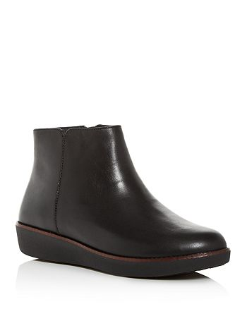 FitFlop - Women's Ziggy Wedge Booties
